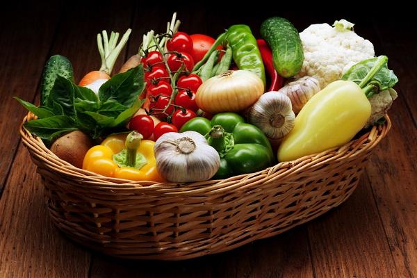 Čerstvá zelenina, ovoce a další potraviny