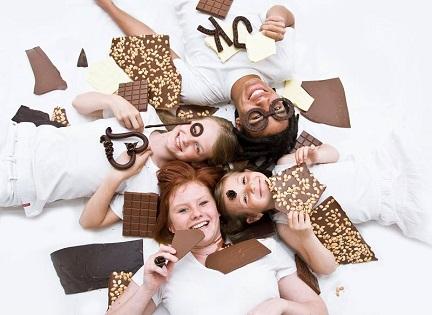 Čokoládové lázně aneb čokoláda vpohybu