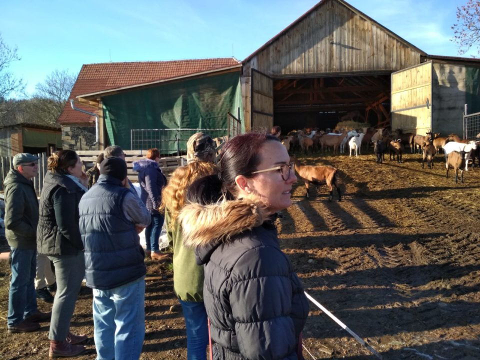 Vyvrcholení vzdělávací aktivity – exkurze na Farmě Držovice